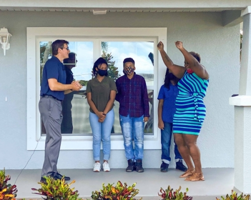 MarineMax Dedicates Another Habitat for Humanity Home to a Local Family Breaking the Cycle of Poverty, Habitat for Humanity and MarineMax Partner Up, MarineMax Dedicates a New Home to a Deserving Family in Clearwater