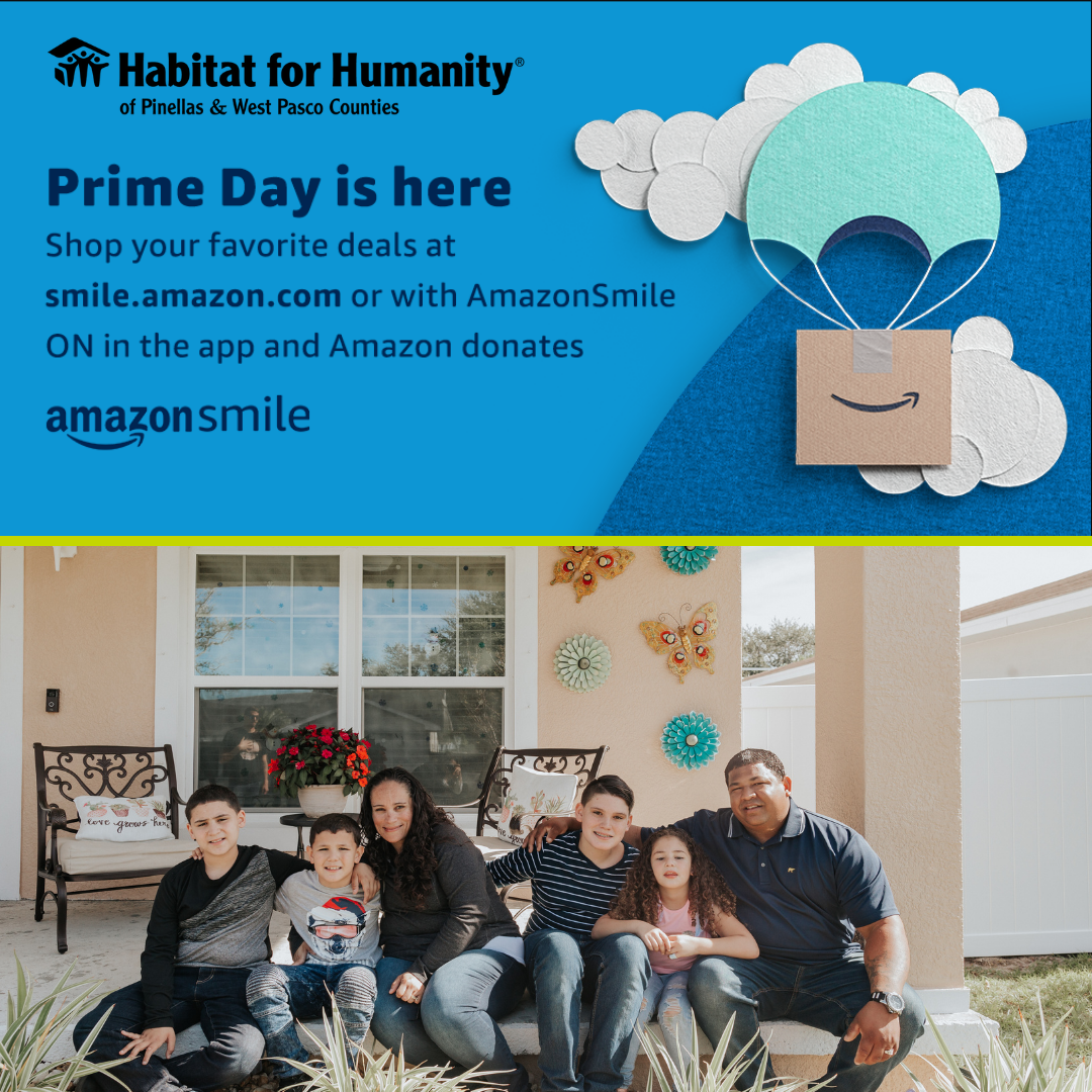 Amazon Prime Day – Shop and Support Habitat!