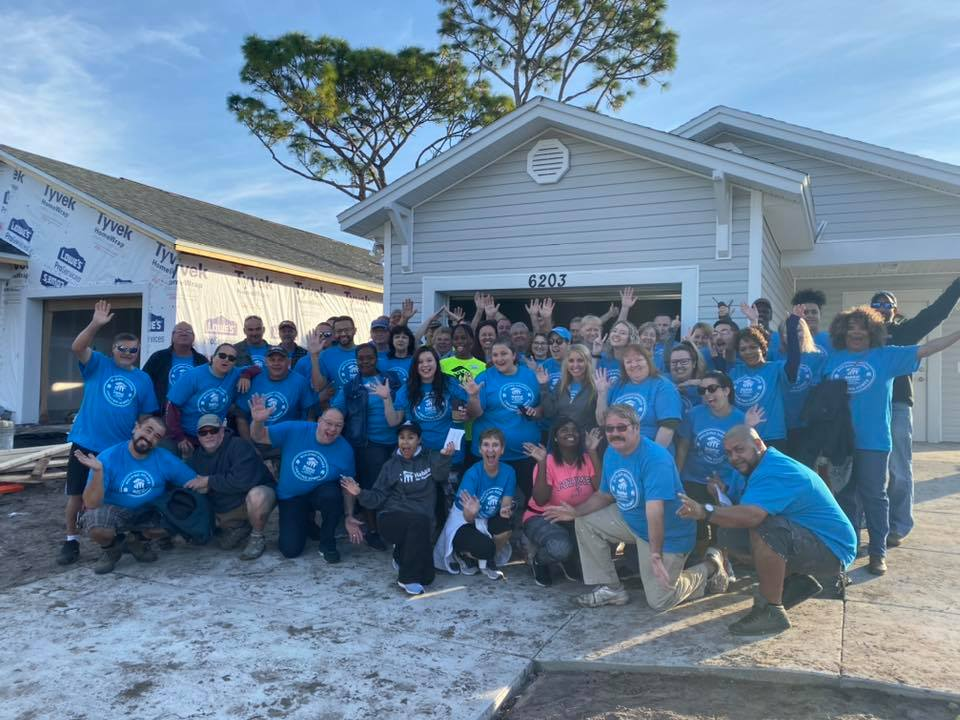 Habitat and Feeding Tampa Bay Partner for Give Back Day