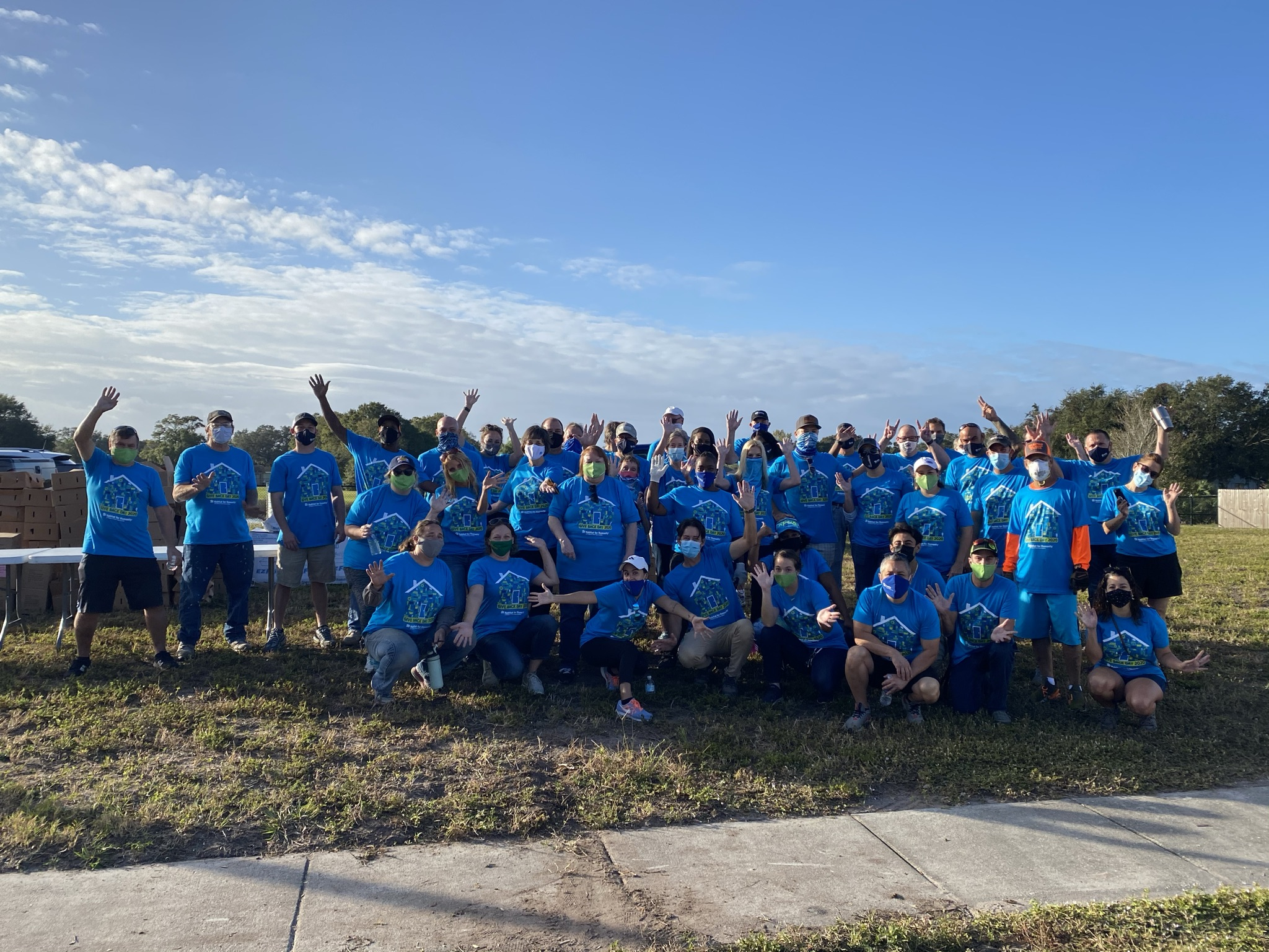 Habitat for Humanity and Feeding Tampa Bay Give Back on Thanksgiving Eve, Announce New Partnership