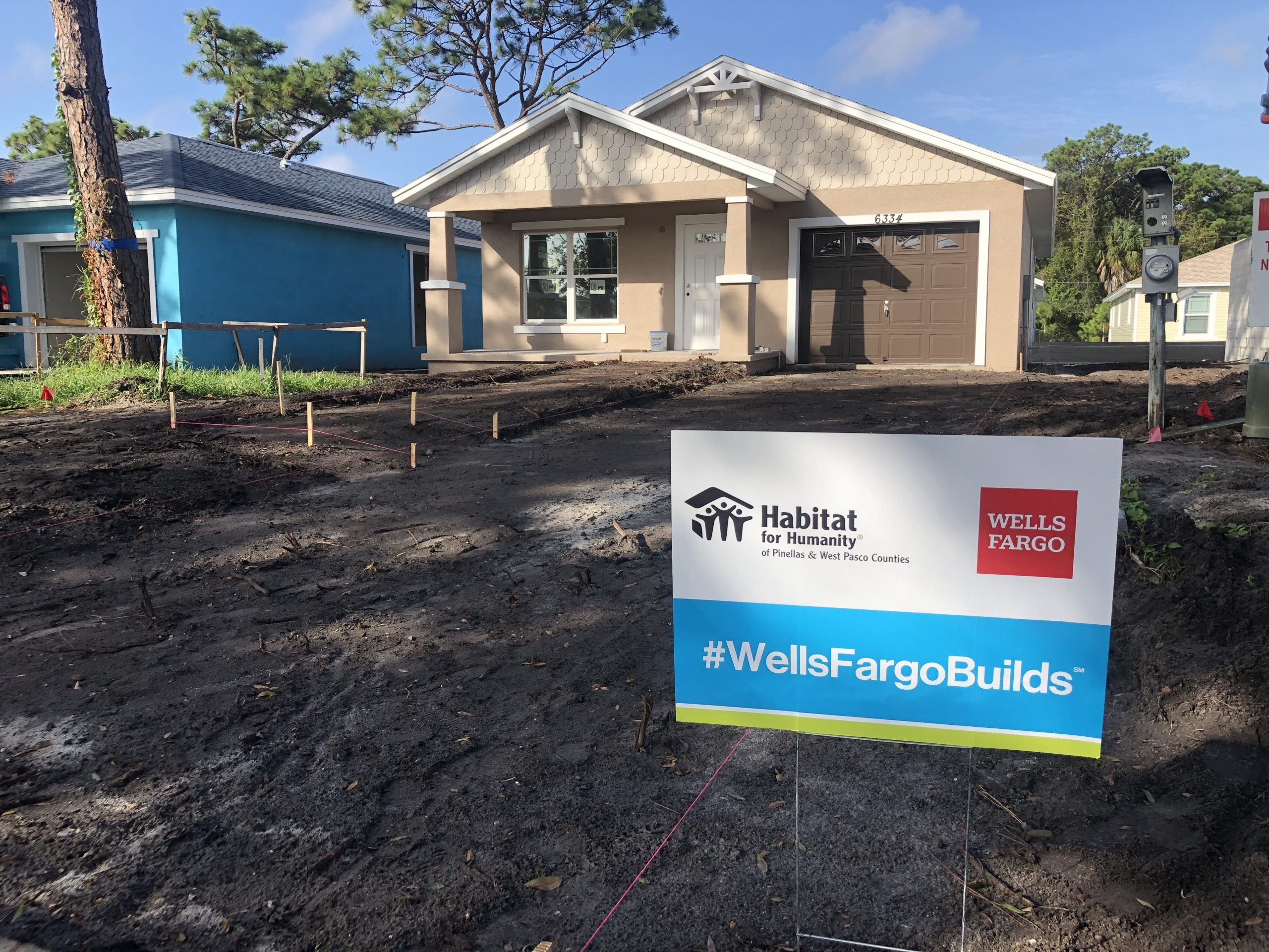 Habitat for Humanity of Pinellas and West Pasco and Wells Fargo team in Pinellas and across the country to help build affordable housing