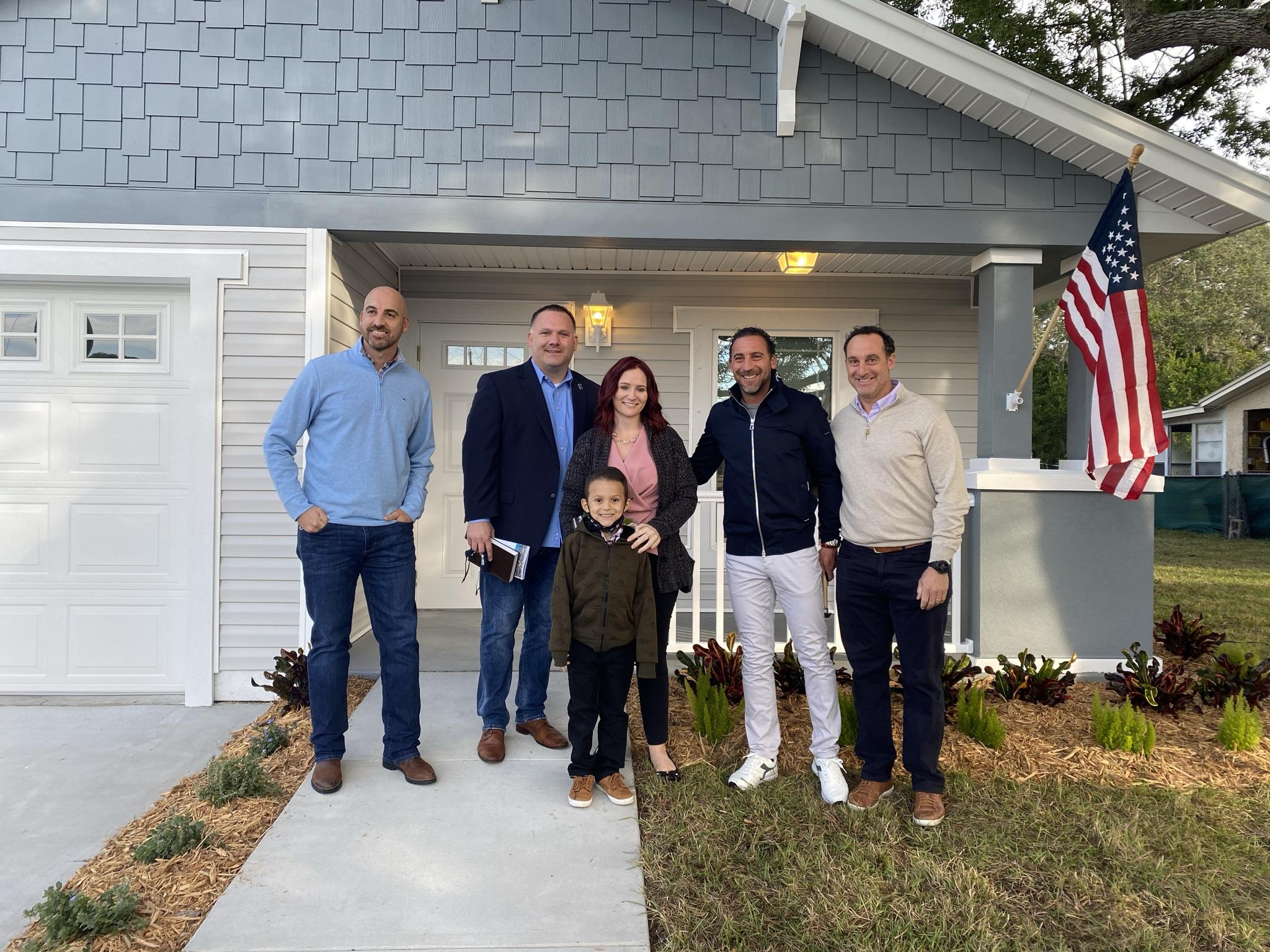 Army veteran celebrates new Habitat home dedication