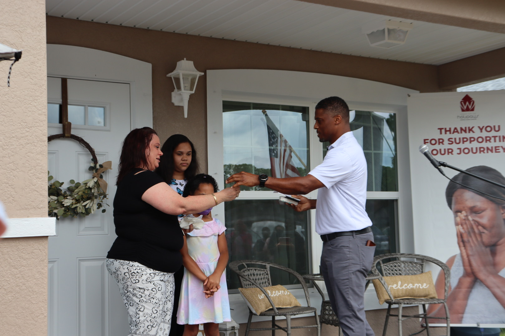Warrick Dunn, MarineMax Make Homeownership Dreams Come True