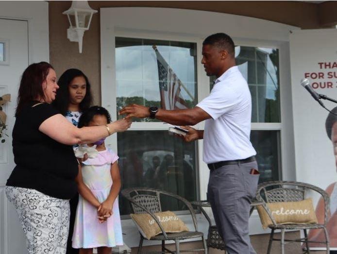Habitat, Warrick Dunn Charities and others help single mom achieve her dream