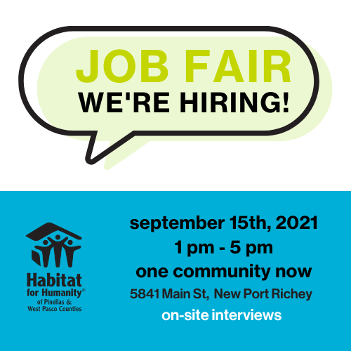 Careers Habitat For Humanity Of, Furniture Jobs In St Pete Fl